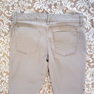 Mossimo Supply Co. Jeans - MOSSIMO Jeans, Tan Studded Skinny Slim Fitted, 2